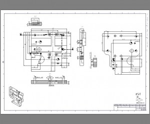 drawing 2 prodesign 300x249 Mechanical Drawings, CAD Drafting and Detailing