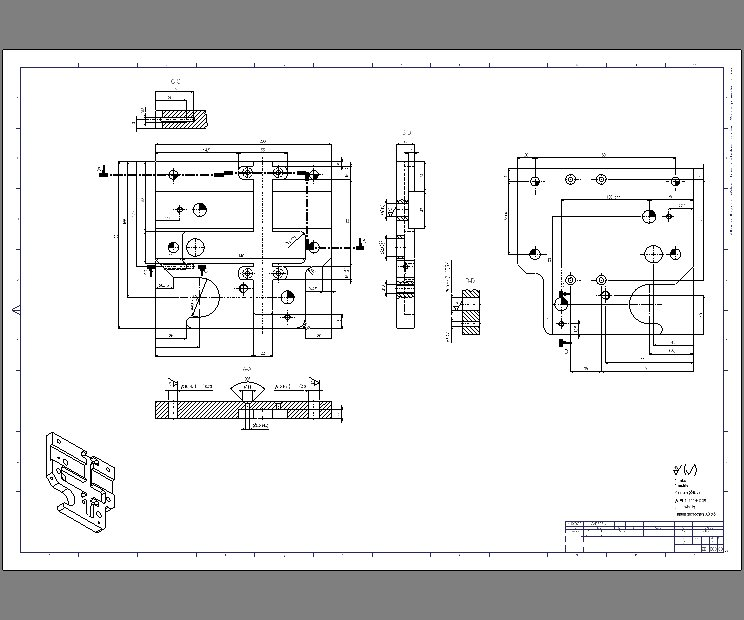 2D CAD, Components Drawings, Fabrication Drawings, Assembly Drawings